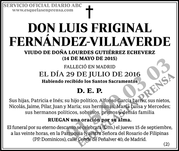 Luis Friginal Fernández-Villaverde